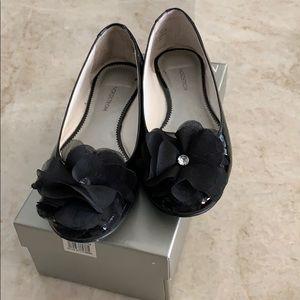 Nordstrom girls dressy flat shoes size 1